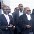 Ayikoi Otoo, Dr. Ndoum and others at court premises