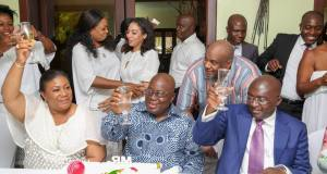 Nana Addo toasts to new age