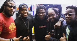 Stonebwoy with the Morgans