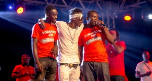 Shatta Wale with others