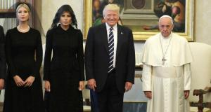 Trump with Pope