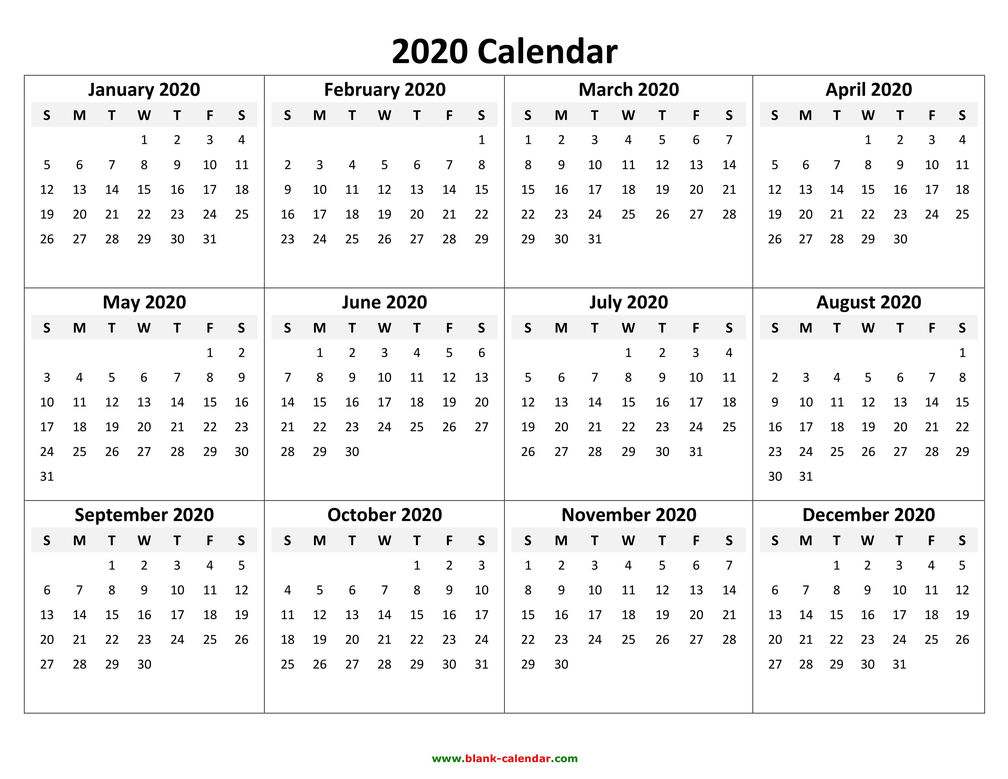 calendar template ms word