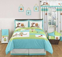 Hooty the Owl Comforter Set - 3 Piece Full/Queen Size By ...