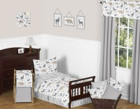 Woodland Animals Toddler Bedding Set By Sweet Jojo Designs ...
