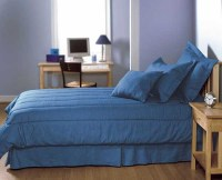 Queen Size Blue Jean Comforter Set