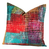Crayola Etch Square Pillow