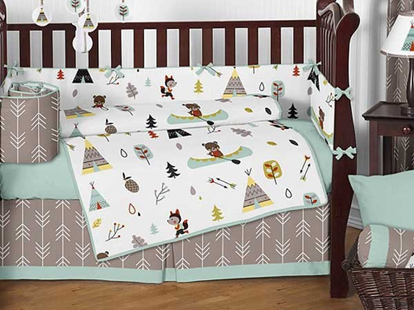 Outdoor Adventure Crib Bedding Set by Sweet Jojo Designs