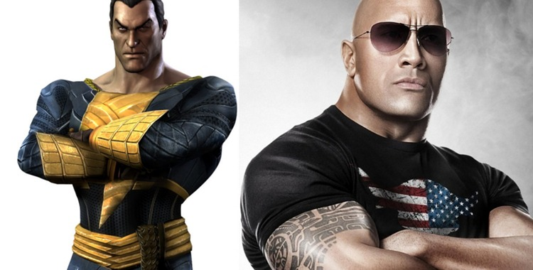 Dwayne The Rock Johnson as Black Adam