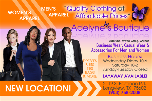 Adelyne\u0027s Boutique Flyer Design 2 - Blaq Media Group - flyers design samples