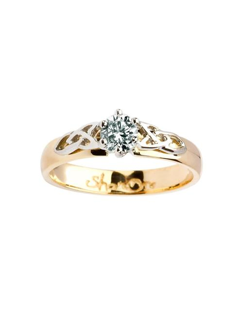 Medium Of Irish Engagement Rings