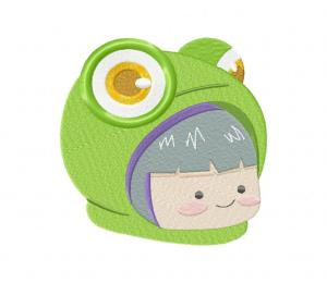 Hoodie Frog-01 Stitched 5_5 Inch