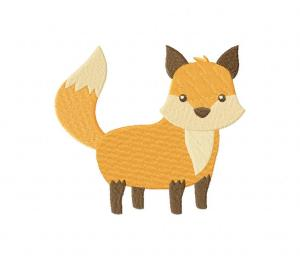 Awesome Standing Fox Stitched 5_5 Inch