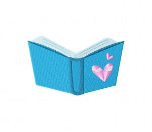 Book Worm-01 Stitched 5_5 Inch