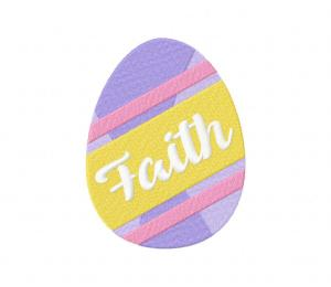Easter Egg – Faith Stitched 5_5 Inch