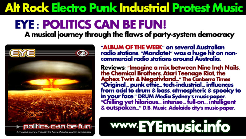 Album SONGS of PROTEST Australian Political Protest Social Justice