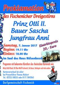 Plakat Proklamation Internet