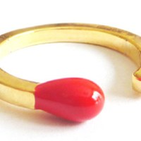 Pictures of matchstick rings