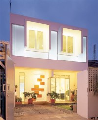blazzing house: Spectacular White Box House Design Inspiration