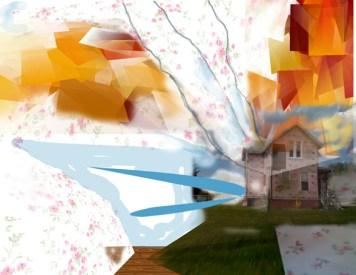 "Art from Elizabeth Blau's new show, ""Mentalist & Medium"""