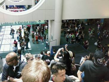 crowds at SDCC