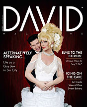 David Magazine june 2011 cover