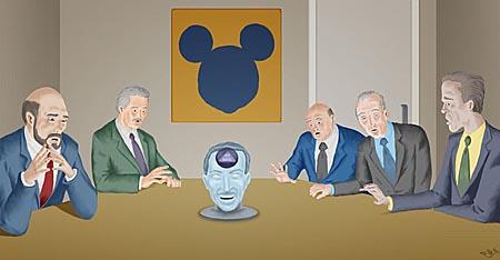 Walt Disney frozen head
