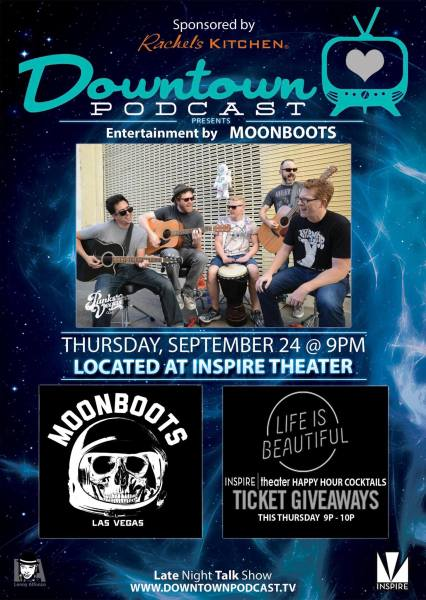 Downtown Podcast Moonboots