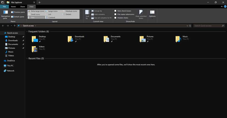 Microsoft Now Has a Usable Dark Theme for File Explorer in Windows