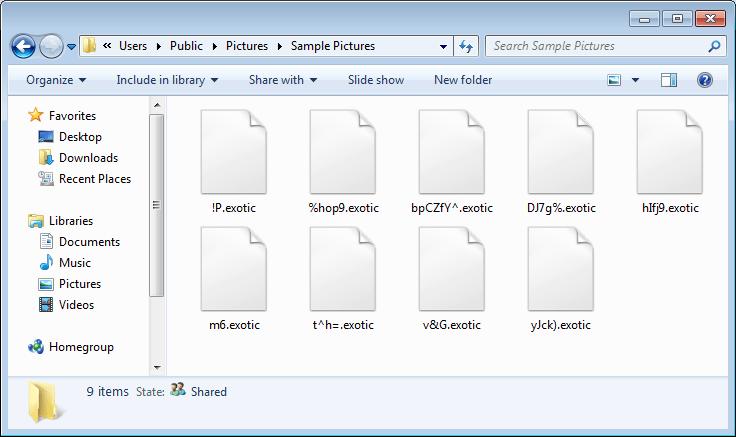 encrypt a file