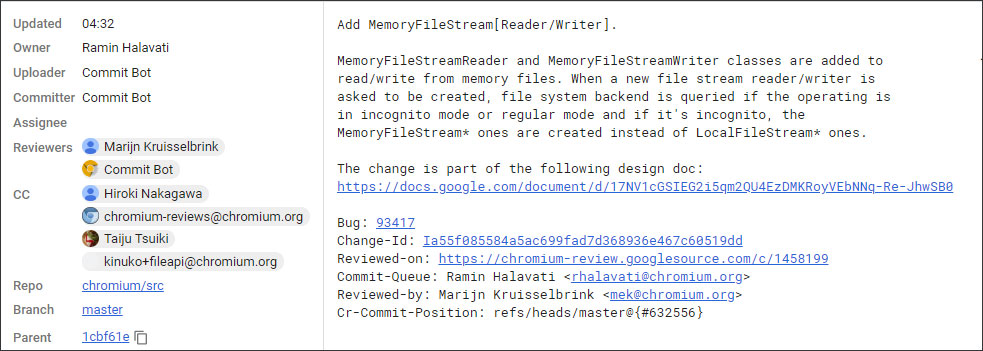 Google Fixing Chrome API to Prevent Incognito Mode Detection