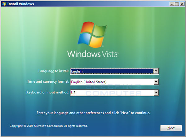 How to automatically repair Windows Vista using Startup Repair - windows repair install