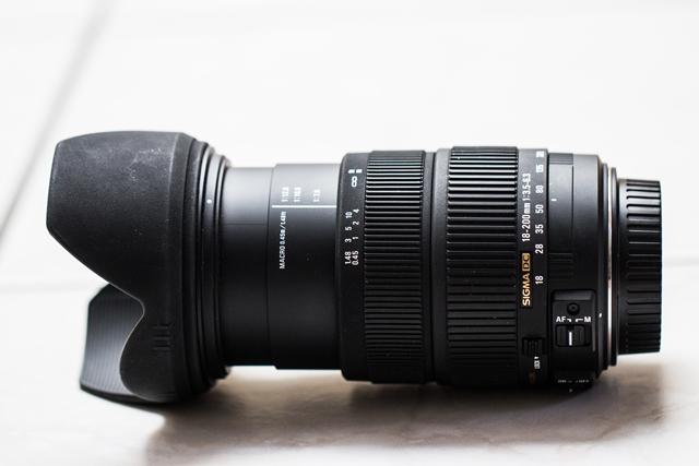 Sigma 18-200 OS