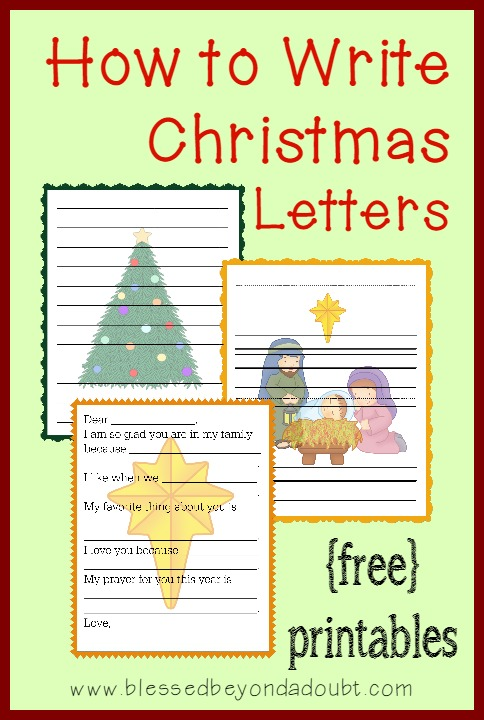 How to Write Christmas Letters with FREE TemplatesFamily Fun - free templates for letters
