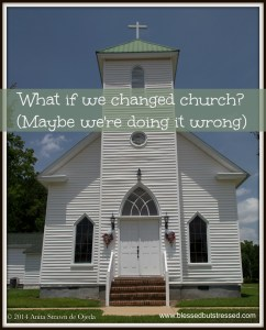 Would more people want to belong if we paid attention to the purpose of church?