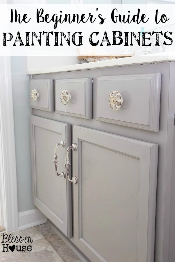 The Beginner\u0027s Guide to Painting Cabinets