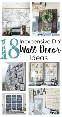 inexpensive wall decor | Roselawnlutheran