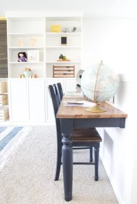 Repurposed Kitchen Table Wall-Mounted Desks + ORC Week 3 ...