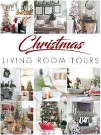 Cozy Christmas Living Room Tour - Bless'er House