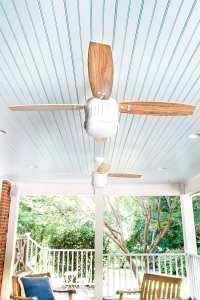 Haint Blue Porch Ceiling Makeover - Bless'er House
