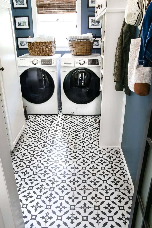 Diy Moroccan Vinyl Tile Floor Bless39er House