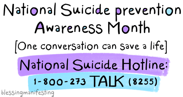 One Conversation Can Save a Life: Suicide Awareness