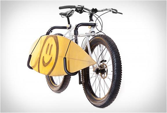 Surfboard Bike Rack By Carver Racks