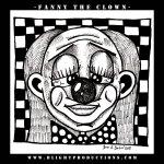 Fanny-the-Clown-B&W