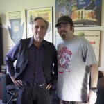 Me & Joe Dante in his office after the interview!