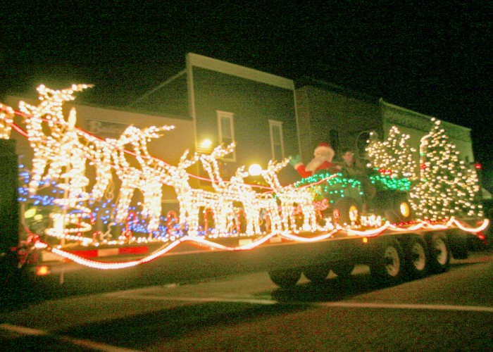 Parade of Lights at 7 p.m. Saturday