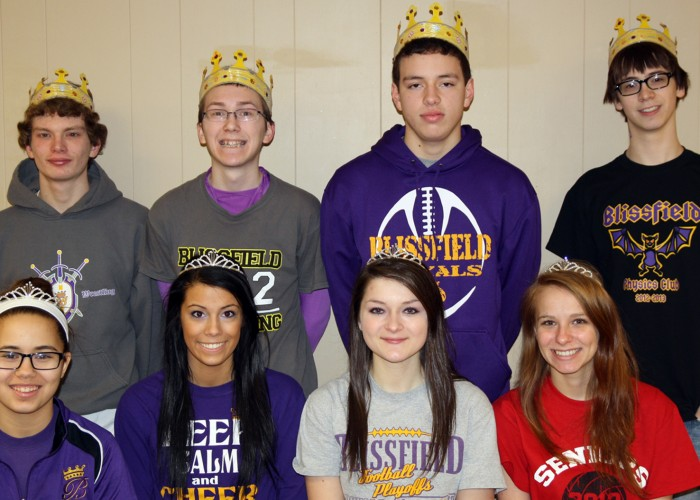Holdridge, DeNudt crowned Blissfield Coming Home royalty