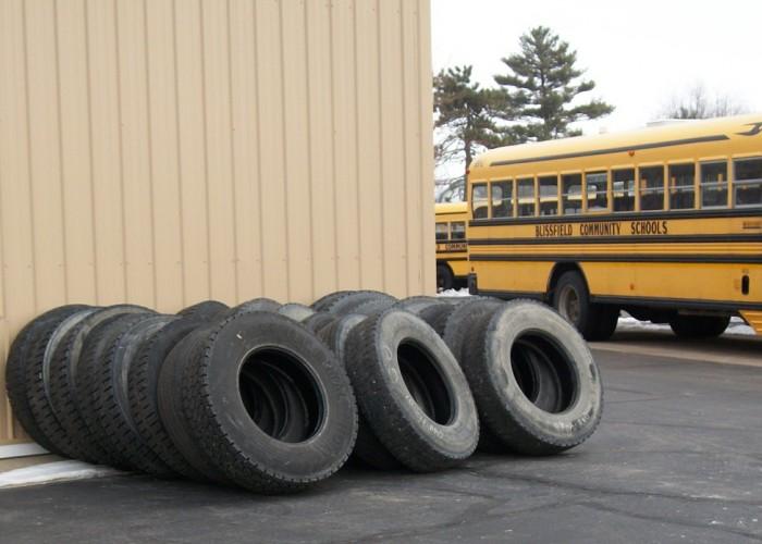 Blissfield buses vandalized