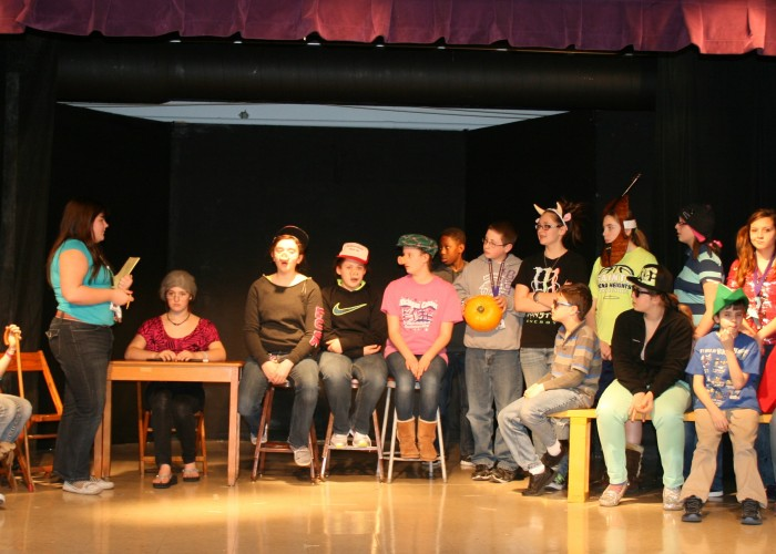 Middle-schoolers present two plays