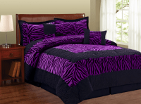 Zebra Print Bed Comforters Is In Style... Again ...