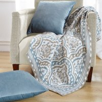 3 Piece Throw Blanket and Throw Pillow Shell Sets ...